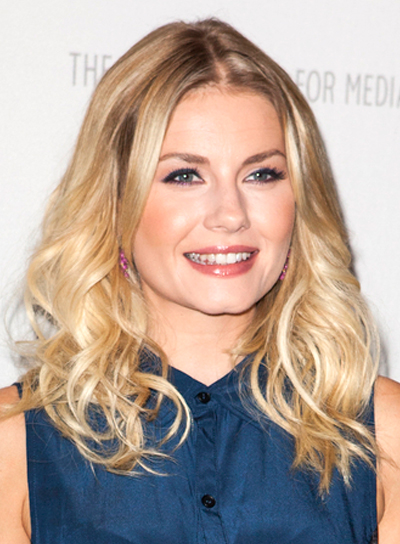 Elisha Cuthbert's Long Blonde, Wavy, Tousled, Hairstyle