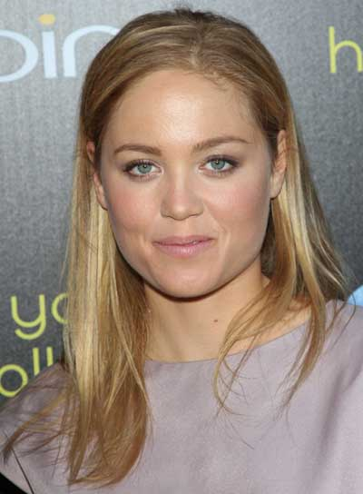 Erika Christensen Straight, Blonde Hairstyle with Highlights