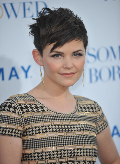 Ginnifer Goodwin Short, Edgy, Chic, Brunette Hairstyle