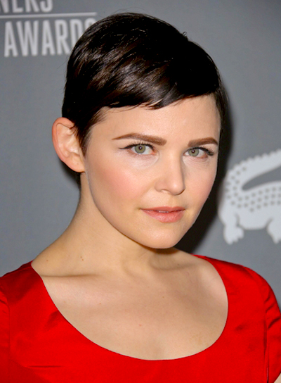 Ginnifer Goodwin's Short, Sophisticated, Chic, Straight Hairstyle