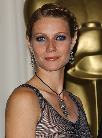 Gwyneth Paltrow Blonde, Braided Hairstyle