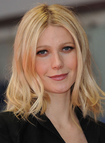 Gwyneth Paltrow Blonde, Wavy Hairstyle