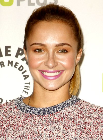 Hayden Panettiere's Blonde, Party, Long, Ponytail Hairstyle