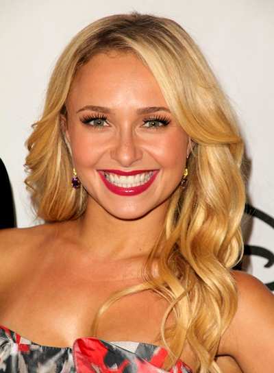 Hayden Panettiere's Long, Blonde, Romantic, Wavy Hairstyle