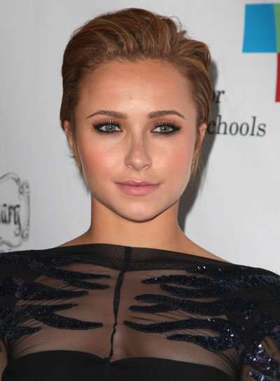 Hayden Panettiere Short, Edgy Hairstyle