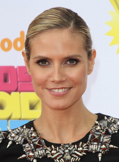 Heidi Klum Sophisticated Updo