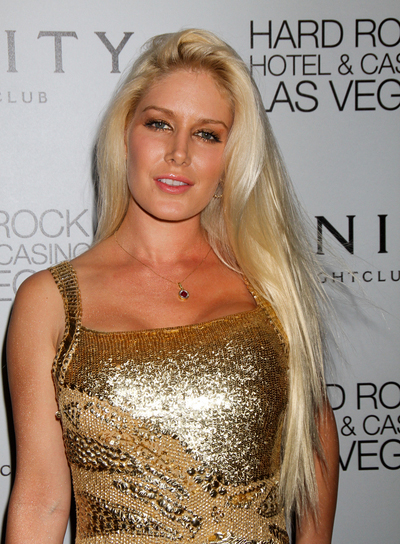 Heidi Montag Long, Straight, Blonde Hairstyle