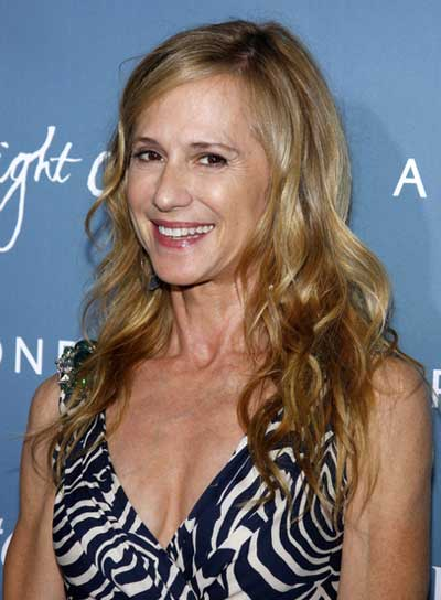 Holly Hunter Long, Wavy, Blonde Hairstyle
