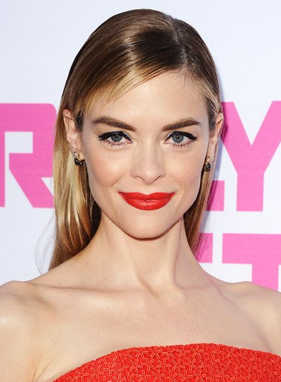 Jaime King's Long, Blonde, Straight, Sophisticated, Hairstyle