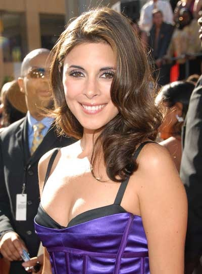 Jamie-Lynn Sigler Formal, Long Hairstyle