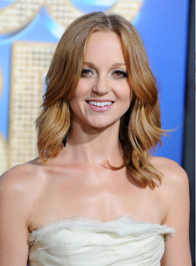 Jayma Mays Medium, Wavy, Sophisticated Hairstyle