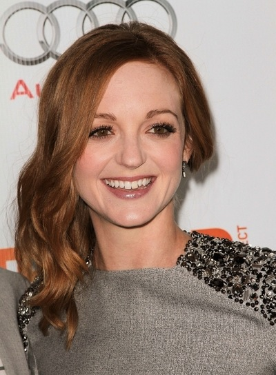 Jayma Mays Wavy, Romantic, Red Hairstyle