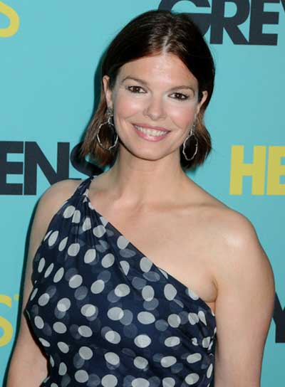 Jeanne Tripplehorn Medium, Straight, Brunette Hairstyle