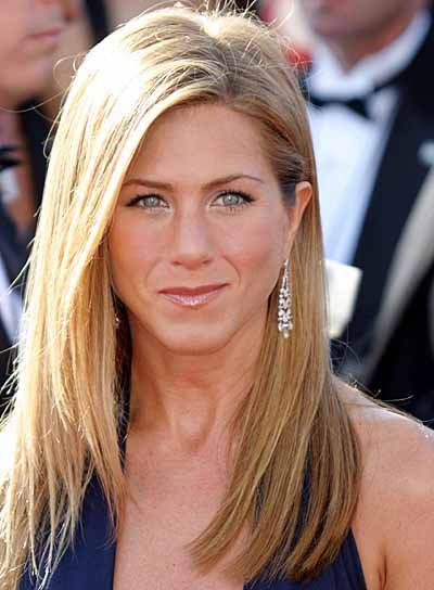 Jennifer Aniston Long, Sedu, Straight Hairstyle