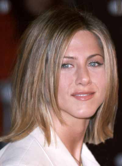 Jennifer Aniston Medium, Bob Haircut