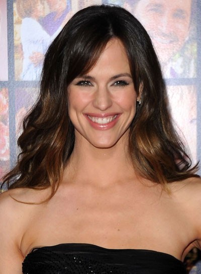Jennifer Garner Long, Wavy Hairstyle