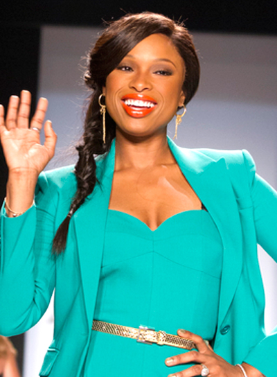 Jennifer Hudson's Long, Brunette, Ponytail Ha