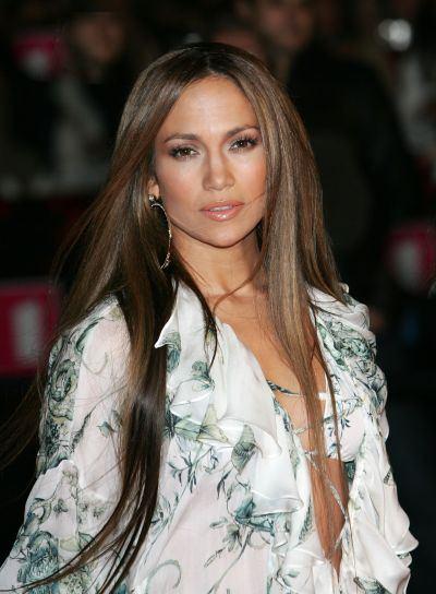 Jennifer Lopez Long, Straight Hairstyle