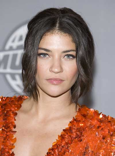 Jessica Szohr Sophisticated, Brunette Updo