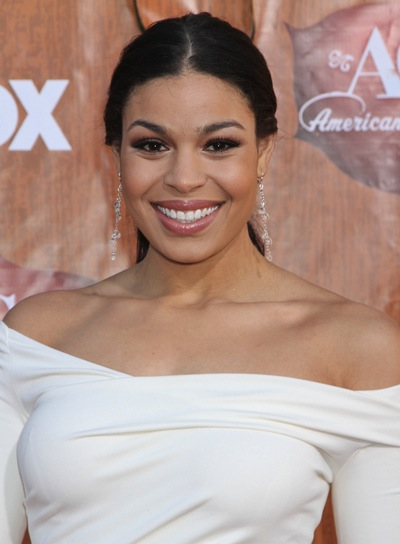Jordin Sparks Chic, Straight, Black Ponytail
