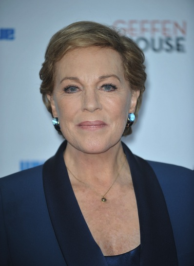 Julie Andrews Short, Sophisticated, Blonde Hairstyle