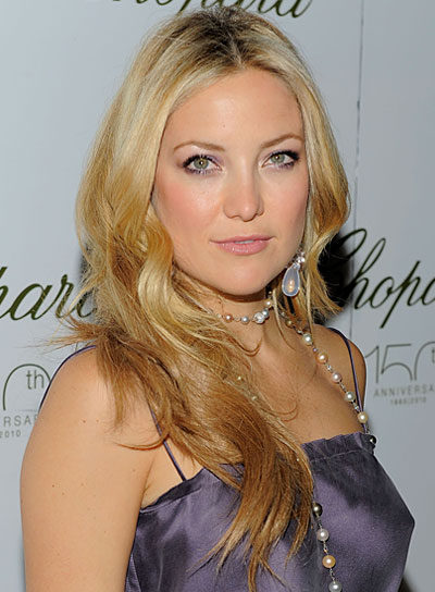 Kate Hudson Blonde, Romantic Hairstyle