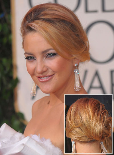 Kate Hudson Chic, Formal Updo