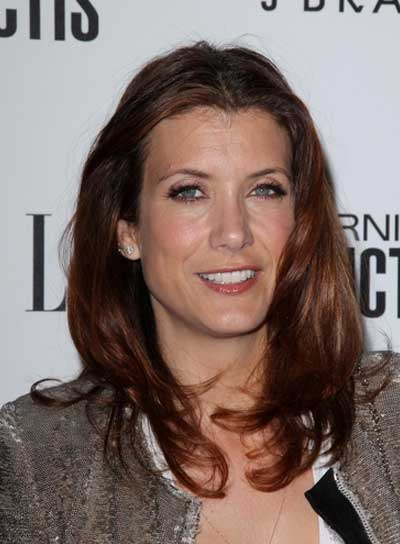 Kate Walsh Medium, Layered, Chic Hairstyle