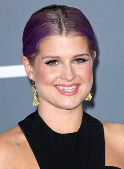 Kelly Osbourne's Funky, Edgy, Chic, Ponytail Hairstyle