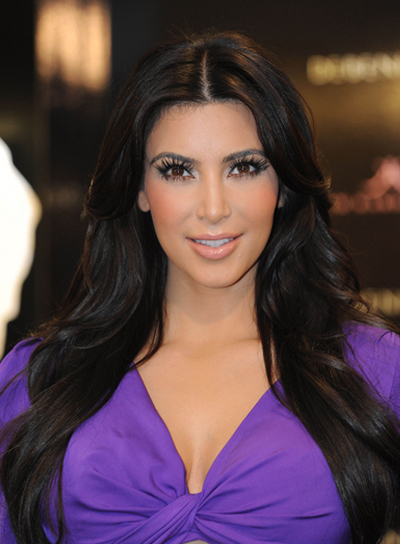 Kim Kardashian Black, Party Hairstyle