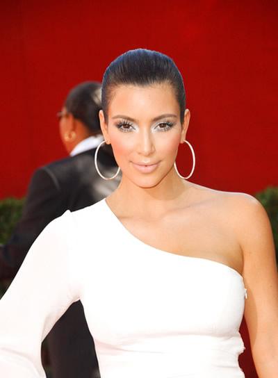 Kim Kardashian Chic Updo