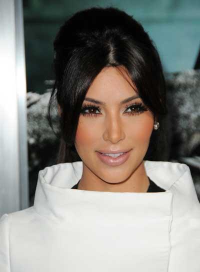 Kim Kardashian Chic, Black, Prom Updo