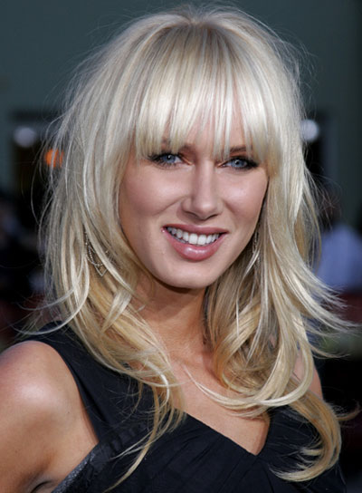 Admirable Long Blonde Hairstyles With Bangs Beauty Riot Short Hairstyles For Black Women Fulllsitofus