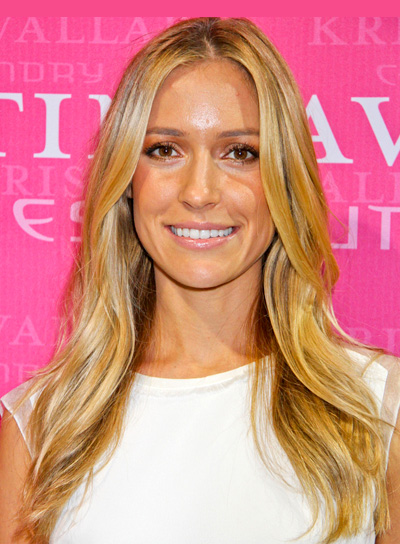 Kristin Cavallari's Long, Blonde, Wavy, Romantic Hairstyle