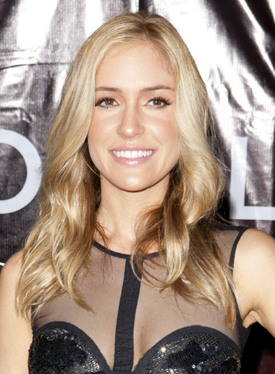 Kristin Cavallari Medium, Wavy, Blonde Hairstyle