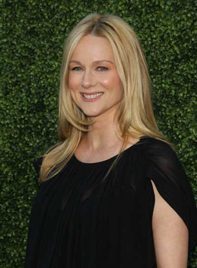 Laura Linney Long, Straight, Blonde Hairstyle