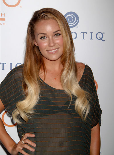 Lauren Conrad Long, Curly, Sophisticated Hairstyle