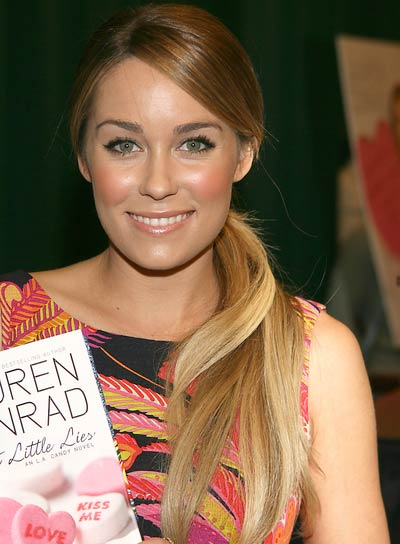 Lauren Conrad Straight, Chic Ponytail