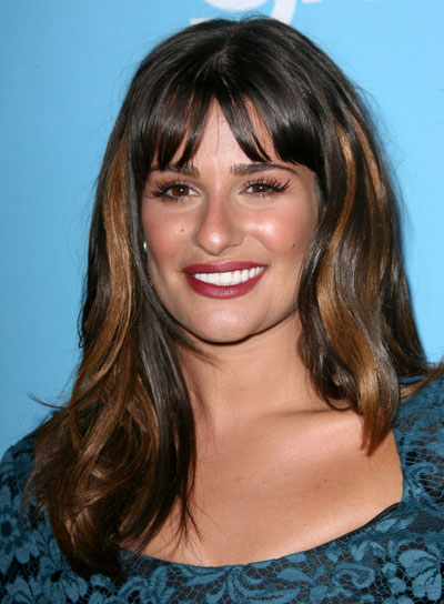 Medium Hairstyles with Highlights and Bangs - Beauty Riot