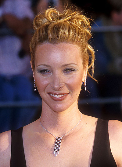 Lisa Kudrow Romantic Updo