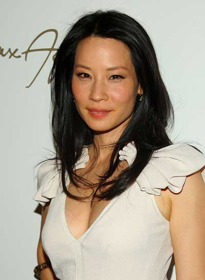 Lucy Liu Long, Straight, Black Hairstyle