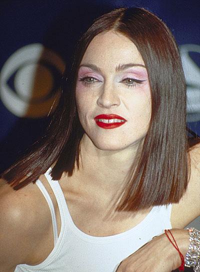 Madonna Brunette, Straight Bob