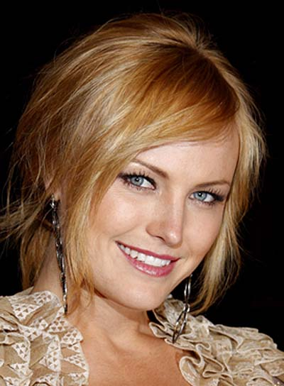 Malin Akerman Romantic Ponytail