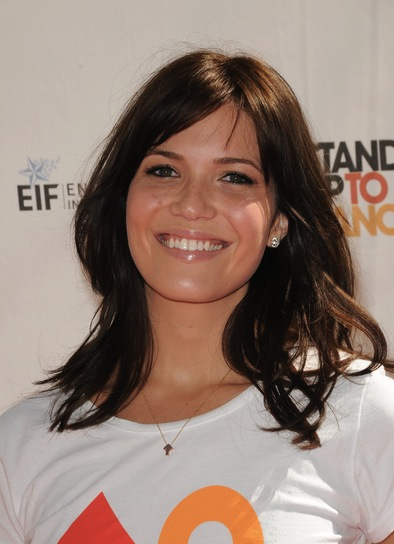 Mandy Moore Medium, Brunette Hairstyle