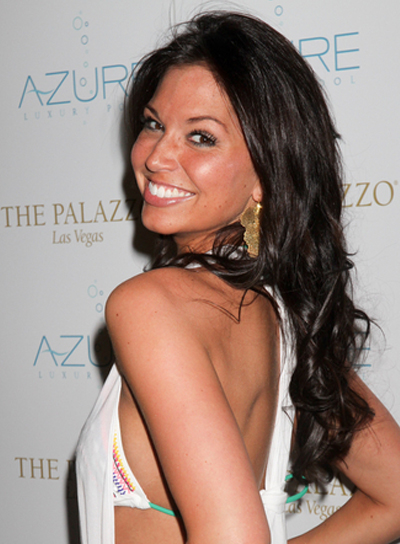 Melissa Rycroft Long, Curly, Tousled, Sexy Hairstyle
