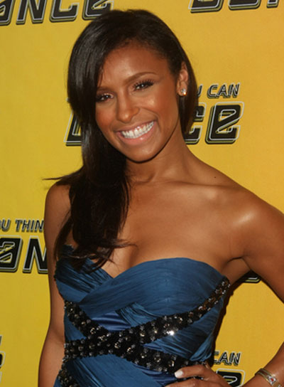 Melody Thornton Long, Straight, Romantic, Black Hairstyle