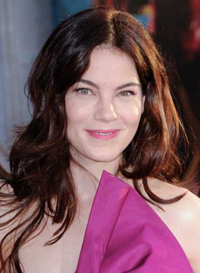 Michelle Monaghan Long, Layered, Wavy, Tousled, Sexy, Brunette Hairstyle