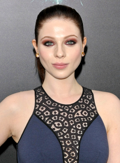 Michelle Trachtenberg's Long, Chic, Brunette, Ponytail Hairstyle