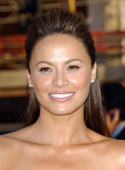 Moon Bloodgood Long, Straight, Sophisticated, Brunette Hairstyle