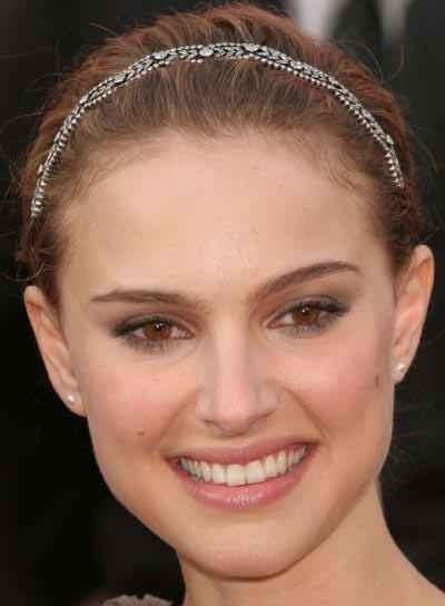 Natalie Portman Prom Updo